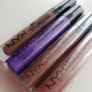NYX Lip Gloss Bundle